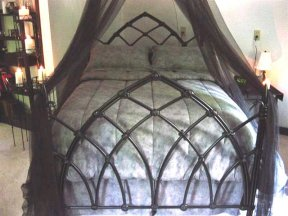 gothic iron bed